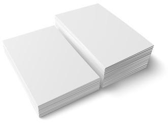 2 Stapel Papier