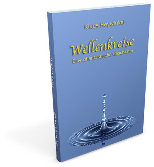 3D Buch Ansicht Wellenkreise