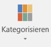 Outlook Kategorien