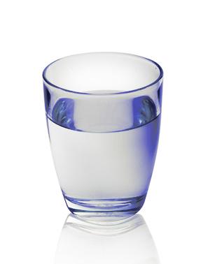 Wie das Glas halb voll wird