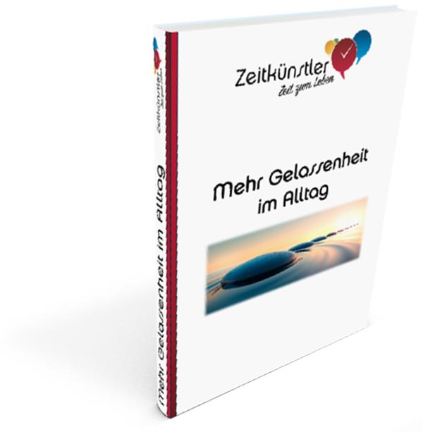 """eBook """"Mehr Gelassenheit im Alltag"""""""