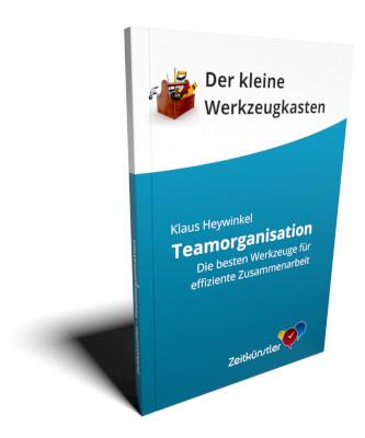 Abbildung des Buchs Teamorganisation